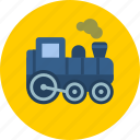 locomotive, railway, train icon