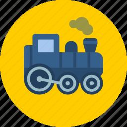 locomotive, railway, train icon
