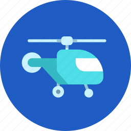 fly, helicopter, military, transport, vehicle icon