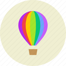 air, baloon, hot, show, travel, vehicle icon