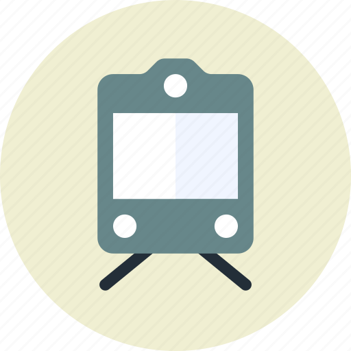 public, railway, sign, transport, vehicle icon