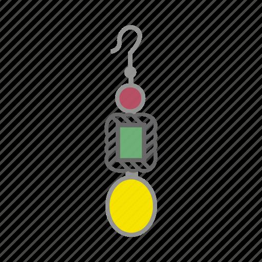 accessories, earring, earrings, jewelry icon