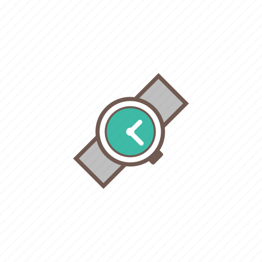 accessories, jewelry, time, timer, watch icon