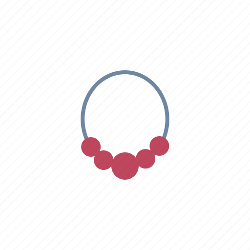 accessories, jewelry, necklace icon