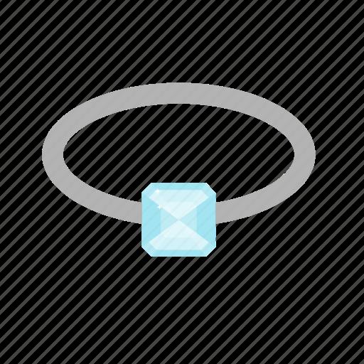 diamond, gemsnone, jewel, jewelry, ring, stone icon