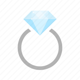 diamond, gem, gemsnone, jewel, jewelry, ring, stone icon