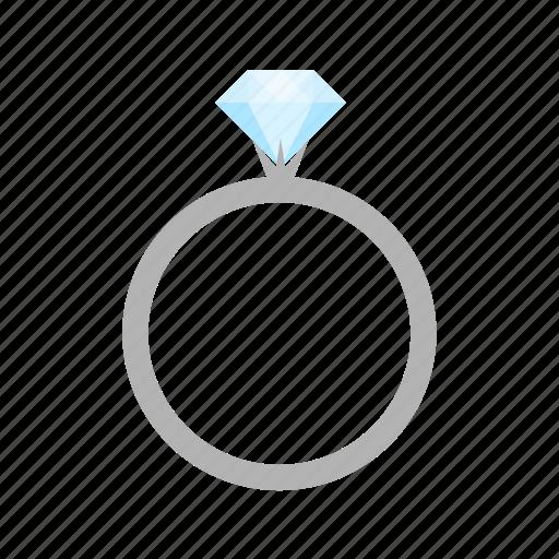 diamond, gem, gemsnone, jewel, jewelry, ring, stone icon