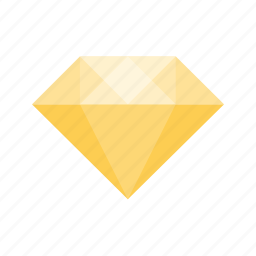 diamond, gem, gemsnone, jewel, jewelry, stone, yellow icon