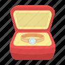 box, female, gift, jewel, jewelry, product, ring