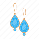 accessory, bijouterie, diamond, earrings, jewelery, jewelry, product icon