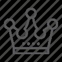 accessory, corona, crown, jewellery, jewelry, king, luxury icon