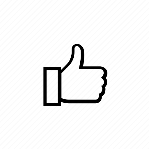 communication, connection, fb, logo, media, network, share, social, thumbs, thumbsup icon