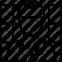 job, occupation, profession, tiler icon