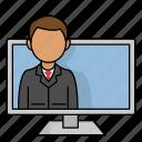 personal data, office, employee, job, work