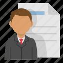 employee, work, office, personal data, job