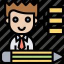 process, capacity, skills, ability, performance icon