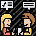 meeting, interview, employer, job, recruit