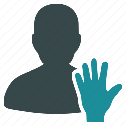 account, election, elector, gesture, hand, user, vote icon