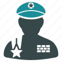 army, military, soldier, police officer, security, sergeant, warrior icon