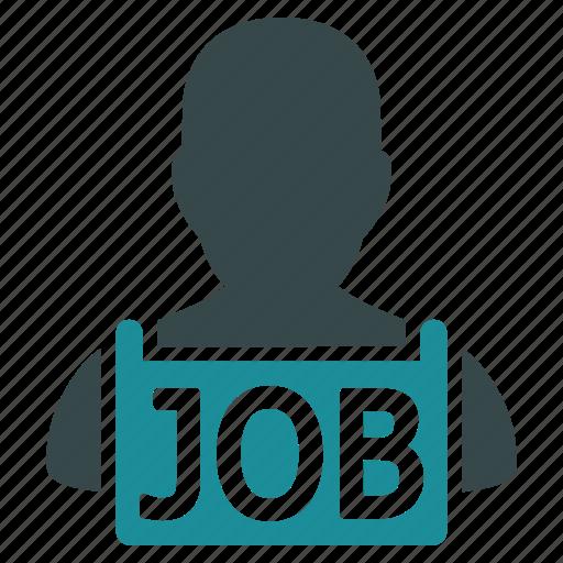 hire, idle, job, poor, unemployed, vacancy, work icon