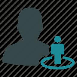 admin, avatar, control, moderator, people, portal, user icon