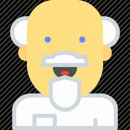 Doctor, einstein, medic, science icon - Download on Iconfinder