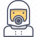 astronaut, cosmonaut, space, suit