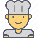 chef, food, gastronomy, kitchen, male, restaurant