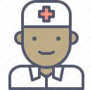 hospital, male, medic, medicine, nurse icon