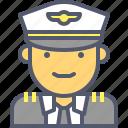 fly, navy, pilot, plane icon