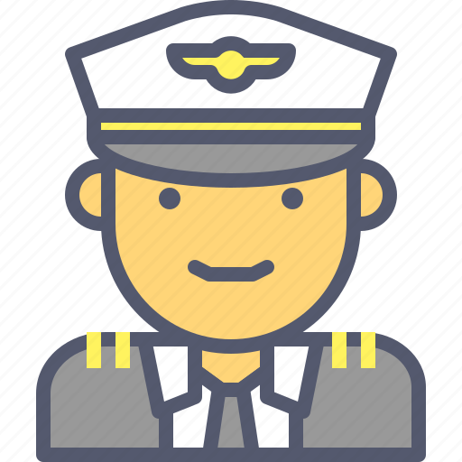 Fly, navy, pilot, plane icon - Download on Iconfinder