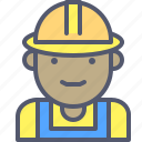 construction, helmet, profession, protection, worker