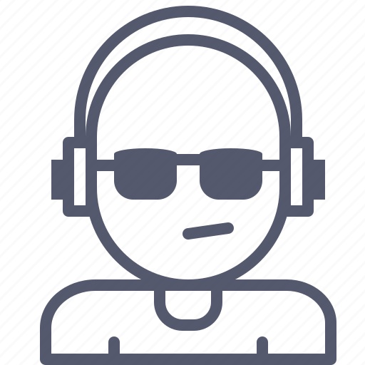 Dj, headphones, music, party icon - Download on Iconfinder