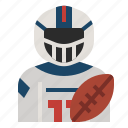 american football player, athletes, avatar, football, quarterback, sport, united state icon