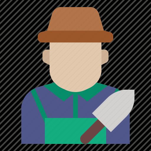 avatar, farmer, gardener, job, occupation, profession icon