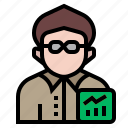 agent, avatar, broker, capitalist, economist, investor, occupation
