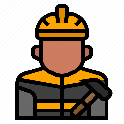 Avatar, builder, industrial, job, occupation, profession, worker icon - Download on Iconfinder