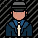 avatar, cabbie, chauffeur, driver, occupation, profession, taxi driver