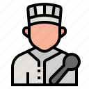 avatar, chef, cook, cooker, occupation, profession, restaurant icon
