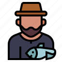 avatar, fisherman, fishing, job, occupation, profession