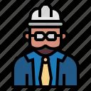 avatar, builder, construction, engineer, foreman, job, occupation