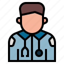 firstaid, hospital, medic, medical, occupation, paramedic, profession icon