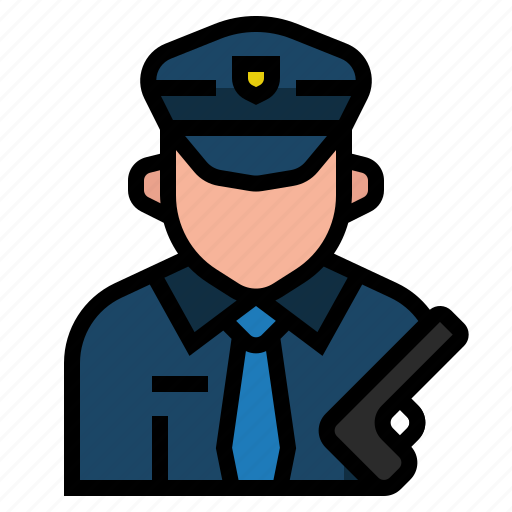 avatar, crime, justice, occupation, officer, policeman, sheriff icon