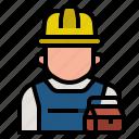 engineer, mechanic, occupation, plumber, profession, repairman, serviceman icon