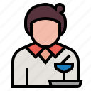 avatar, dining, lunch, meal, restaurant, serve, waitress