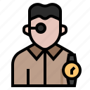 avatar, clock, occupation, profession, repairer, watch, watchmaker icon