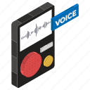 audio recorder, mobile recorder, recording device, sound recorder, voice recorder icon