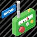 output device, radio, radio broadcast, radio frequency, vintage communication icon