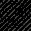 black film, film reel, movie reel, tape reel, vintage reel icon