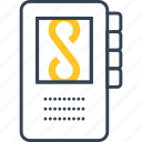 dictaphone, journalism, recording, voice icon